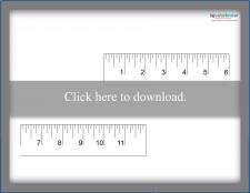 Two-Piece Twelve-Inch Ruler