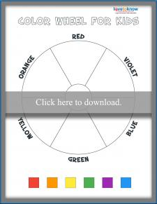 Blank Color Wheel Activity