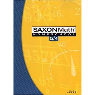 Saxon Math 5/4