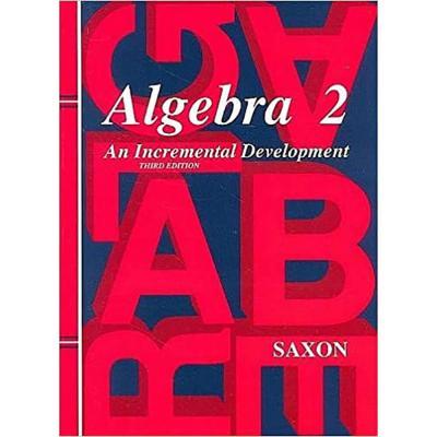 Saxon Algebra 2