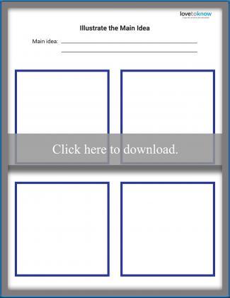 Illustrate the Main Idea Worksheet
