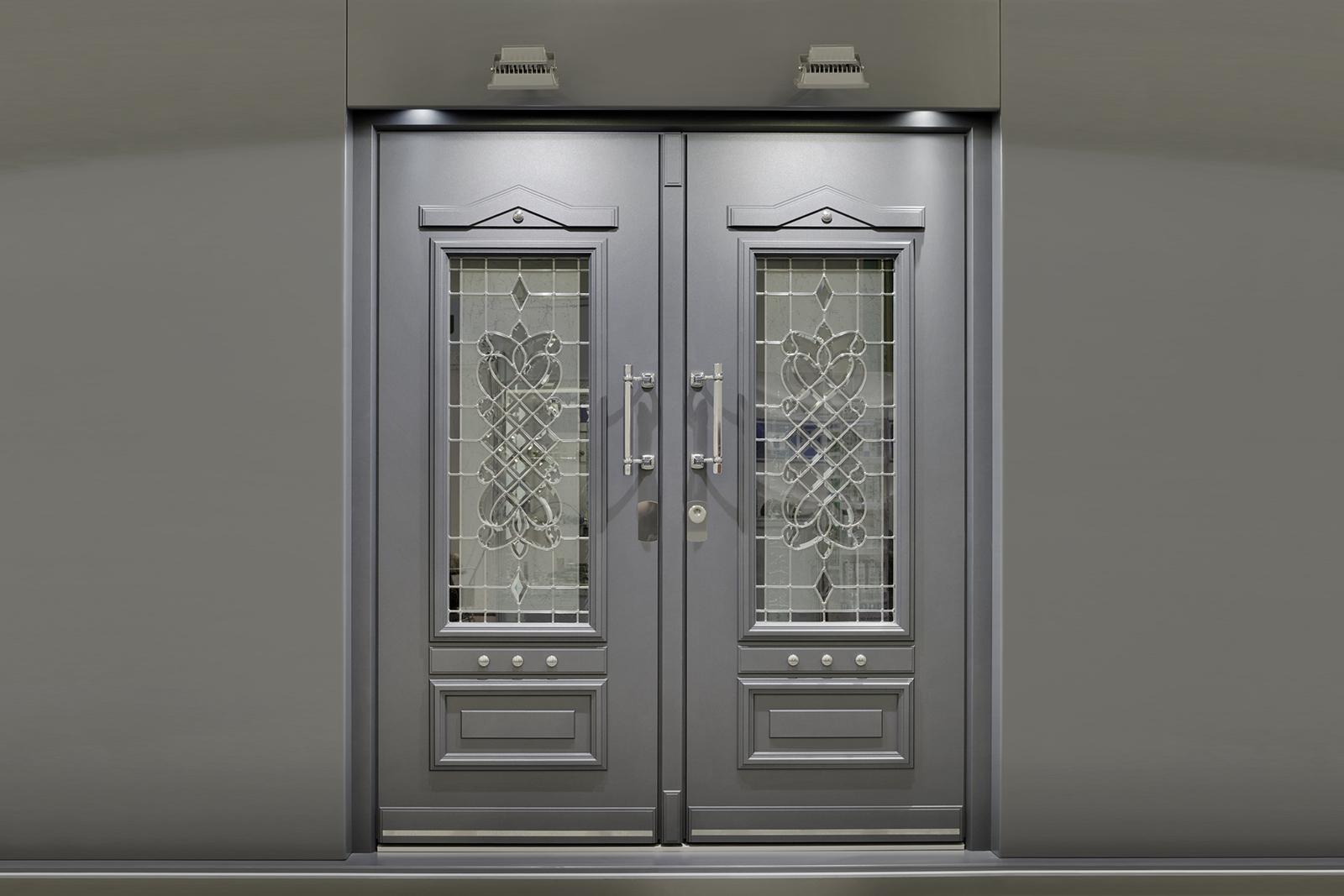 Steel Security Storm Doors