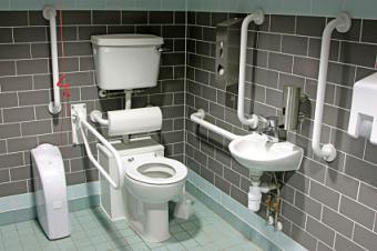 Modified bathroom