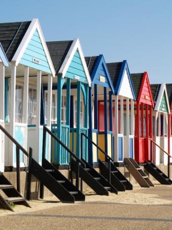 Colorful porches