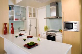 Solid surface counter