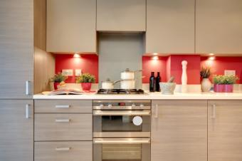 Contemporary kitchen hardware
