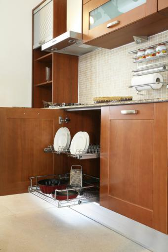 Kitchen Cabinet Pull-Out Options