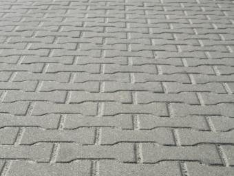 Wavy stamped bricks