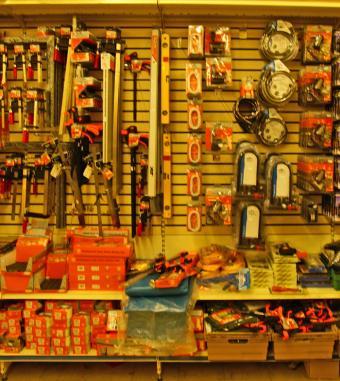 hardware store tools