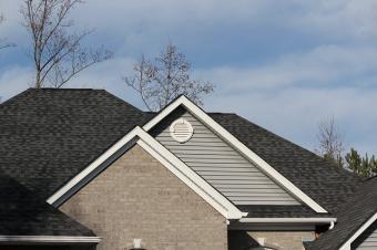 typical ashpalt shingle roof