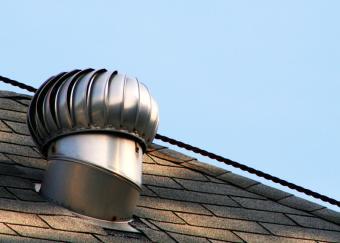 close up of asphalt roof