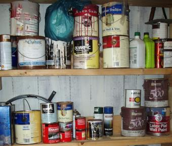 Safe Disposal for Paint Waste