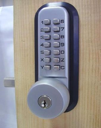 All-Weather Mechanical Keyless Deadbolt Door Lock