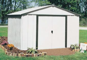 Arrow 10x8 Galvanized Steel Storage Shed