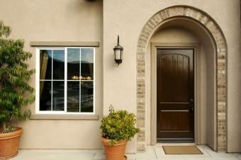 Front Window and Doorway