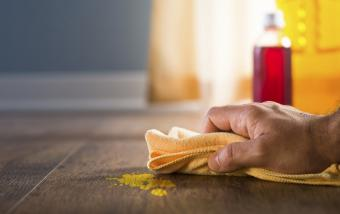 Remove Paint From Hardwood Floor