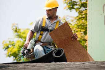 Shingling a roof