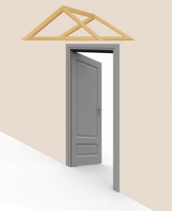 Build awning - step 5
