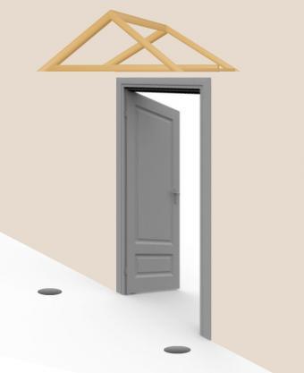 Build awning - step 6