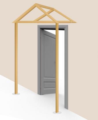Build awning - step 7