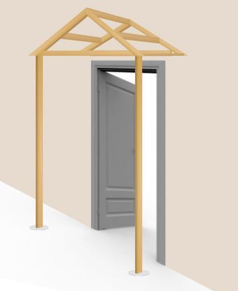 Build awning - step 8