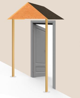 Build awning - step 9