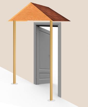 Build awning - step 10