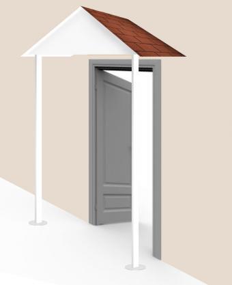 Build awning - step 11