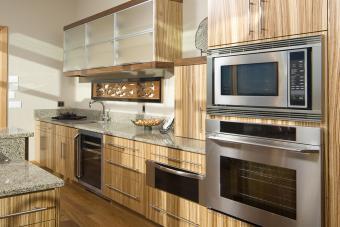 Bamboo Kitchen Cabinets
