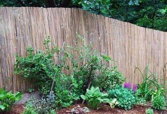 Master Garden Products Bamboo Slat Fence