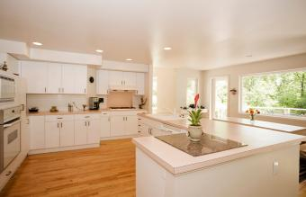 Formica Countertop in Kitchen
