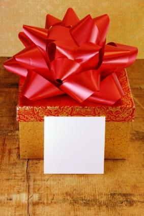 Gift and card