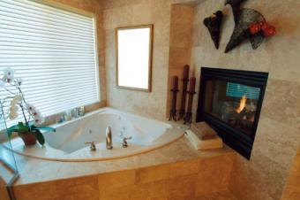 Half Wall Bathroom