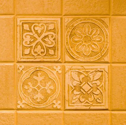 Simple kitchen backsplash ideas lovetoknow - Simple kitchen tile ...