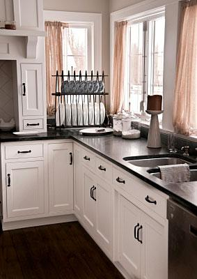 Types of Black Kitchen Countertops & Black Kitchen Countertops | LoveToKnow