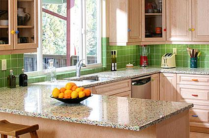 Beautiful Types Of Glass Kitchen Countertops