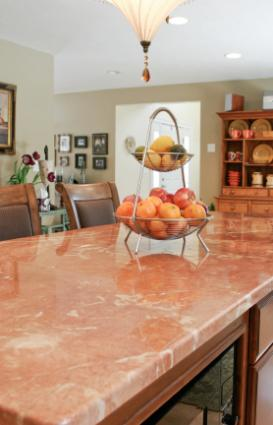 Natural stone countertop