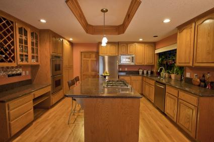 hardwood flooring in the kitchen pros and cons kitchen wood floors lovetoknow 9672