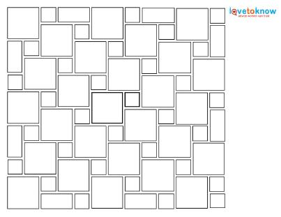 Hopscotch Tile Pattern