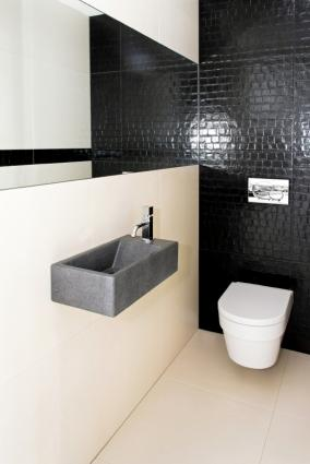 Wall hung bath fixtures