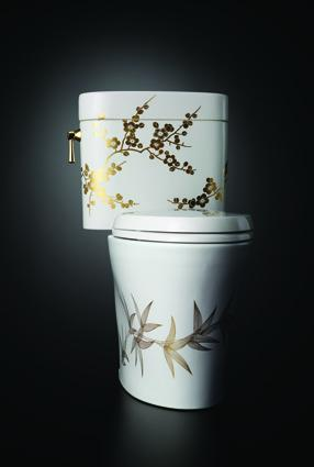 Waza® Miyabi™ Bamboo & Plum toilet from TOTO