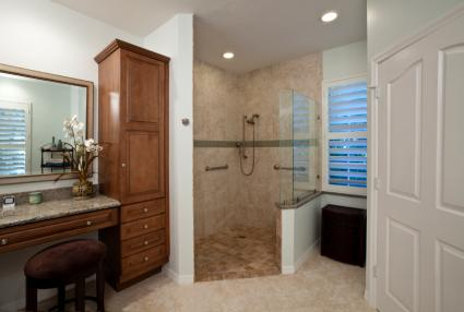 Bathroom Designs For The Elderly And Handicapped - Best flooring for seniors