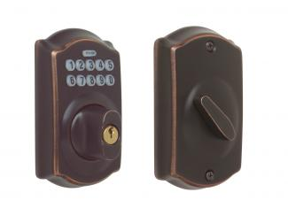 Schlage keypad deadbolt home security kit