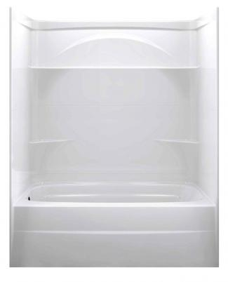 Delta 60-Inch by 32-Inch Styla Acrylic Bathtub Surround
