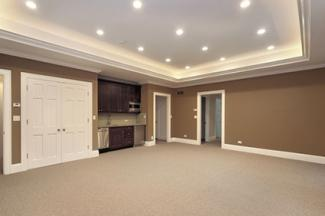 basement tray ceiling