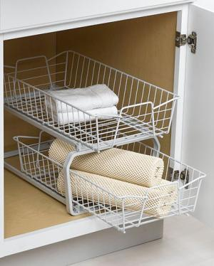 ClosetMaid 2-Tier Cabinet Organizer