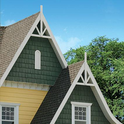 Vinyl siding styles lovetoknow for Tudor siding