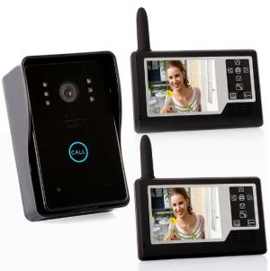 Wireless door phone intercom