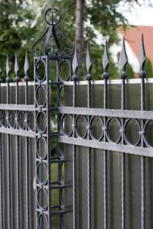 iron palisade fencing