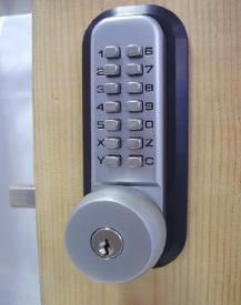 All-Weather Mechanical Keyless Deadbolt Door Lock